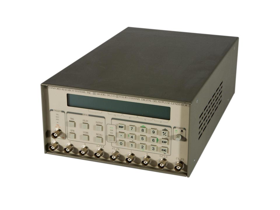 SRS DG535 Digital Delay Generator with GPIB and High Voltage Outputs